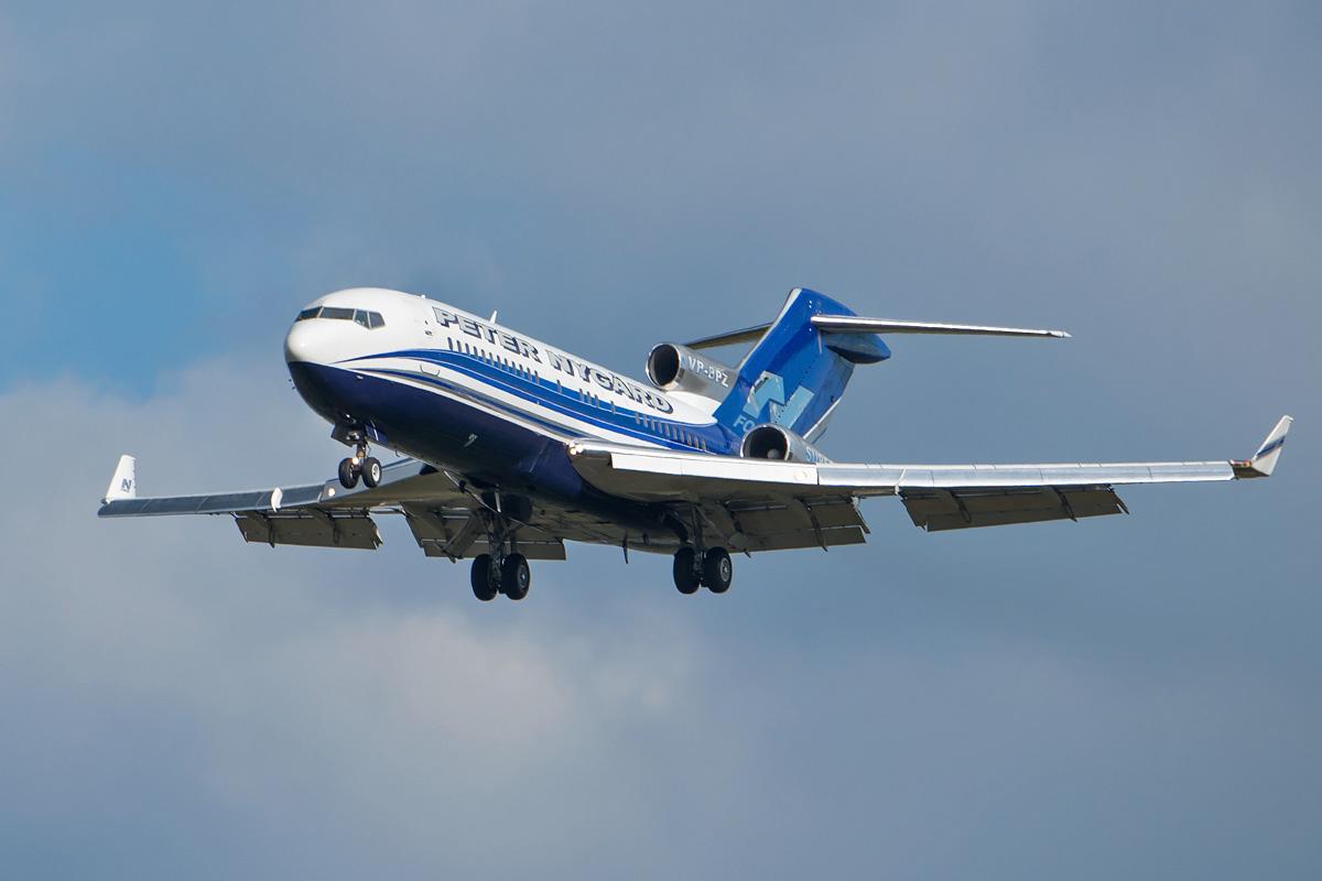 VP-BPZ Boeing 727-100