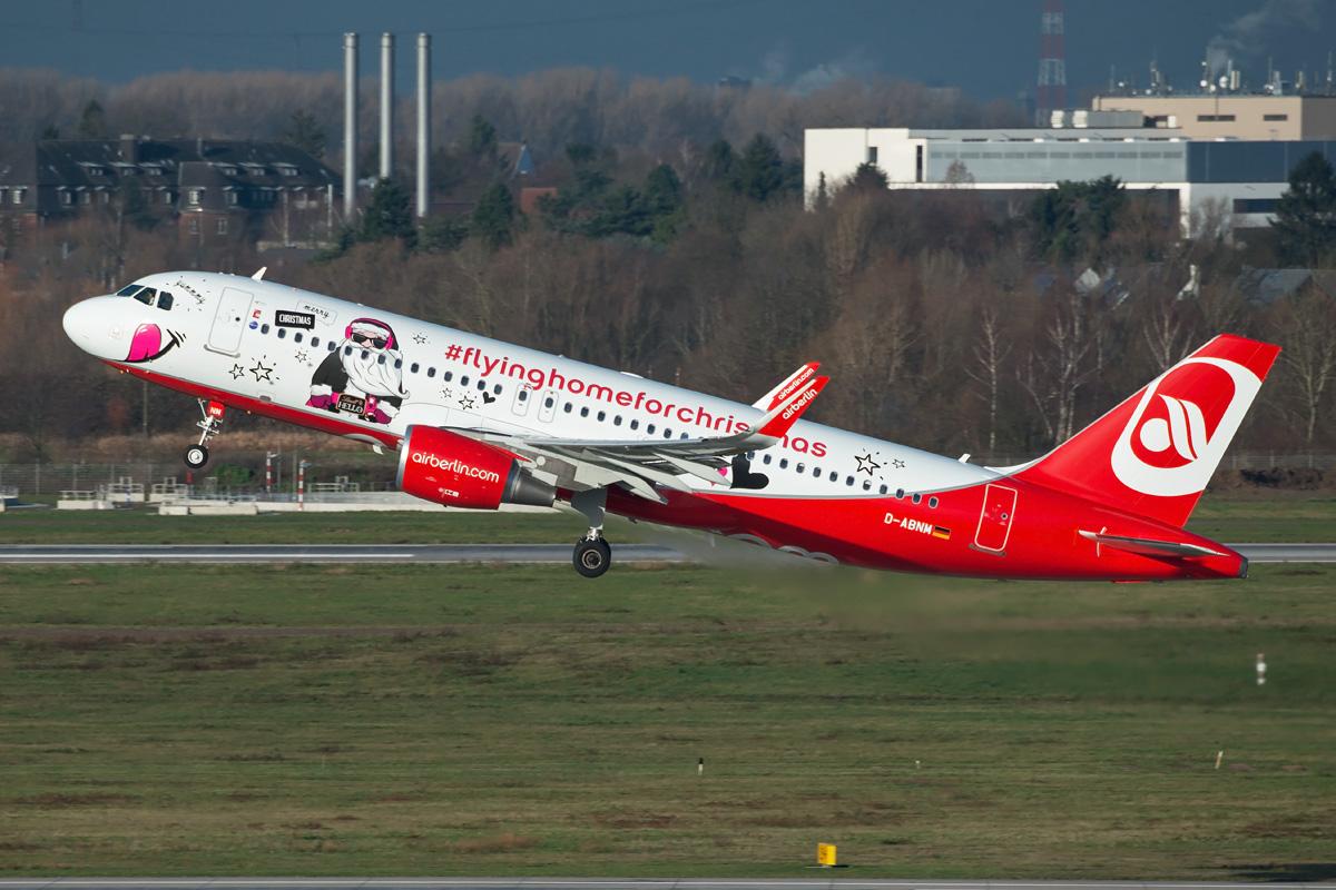 D-ABNM Air Berlin Airbus A320-200/S