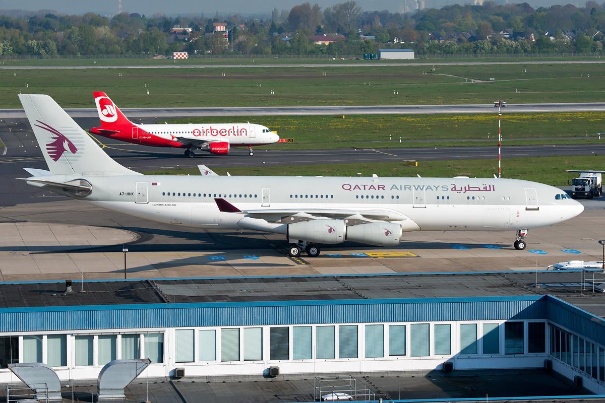 A7-HHK Qatar Amiri Flight Airbus A340-200