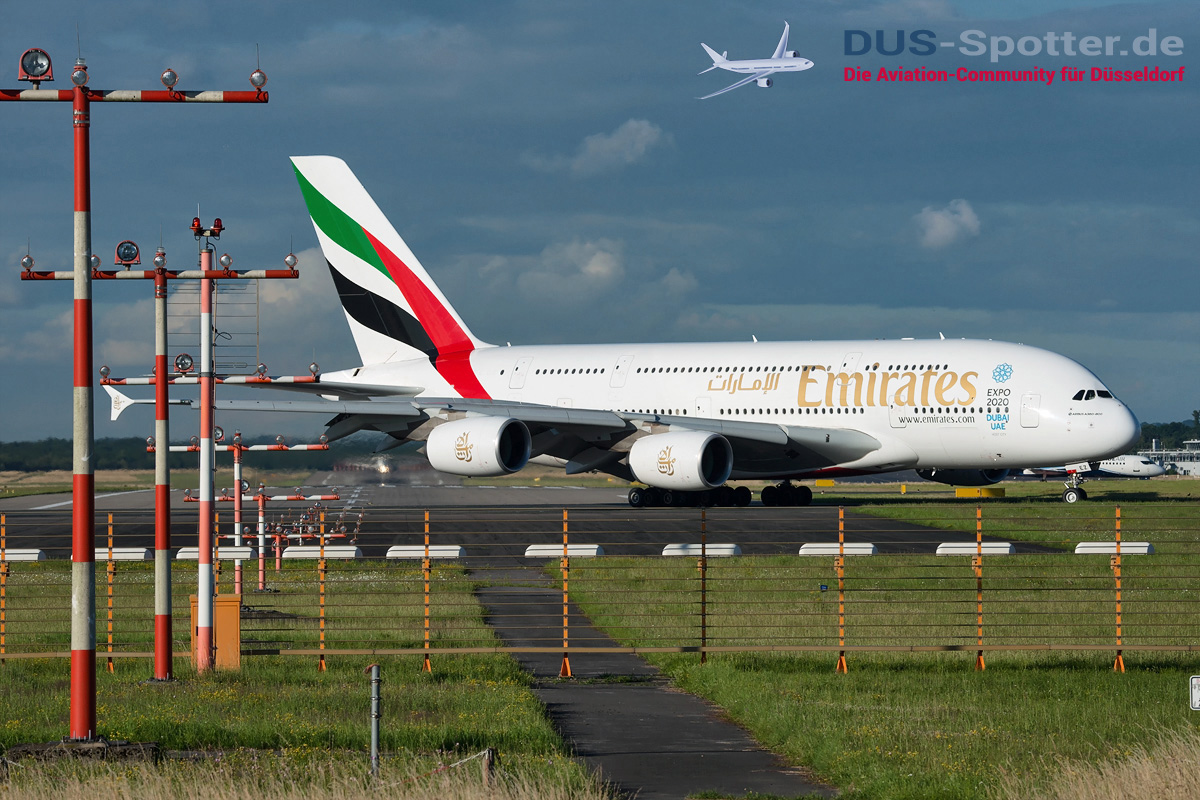 A6-EEZ Emirates Airbus A380-800