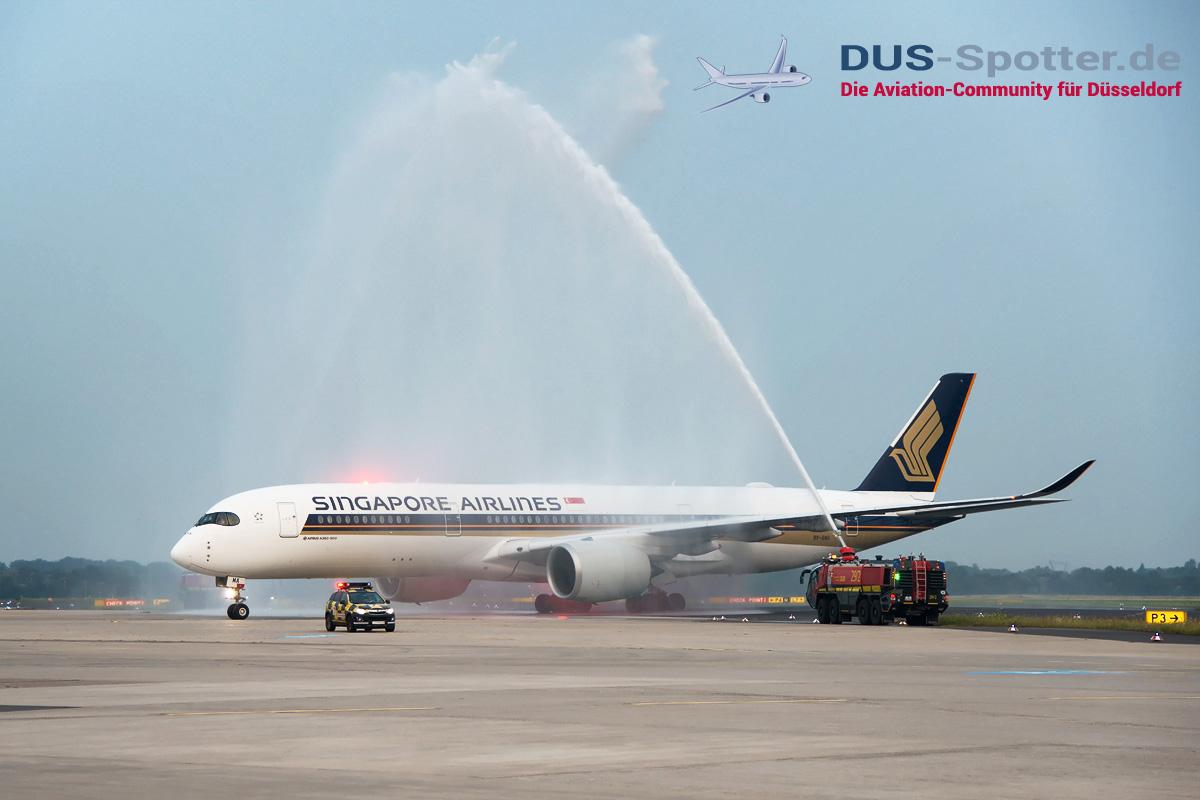 9V-SMA Singapore Airlines Airbus A350-900