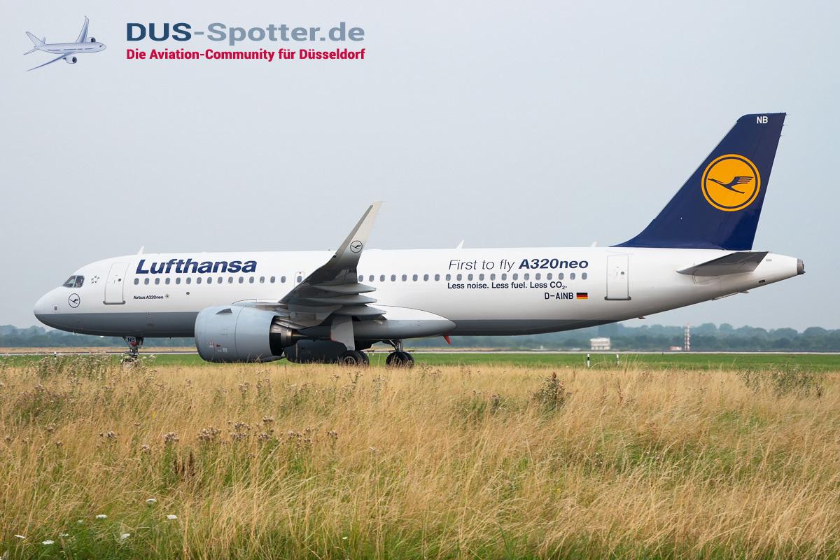 D-AINB Lufthansa Airbus A320-200neo