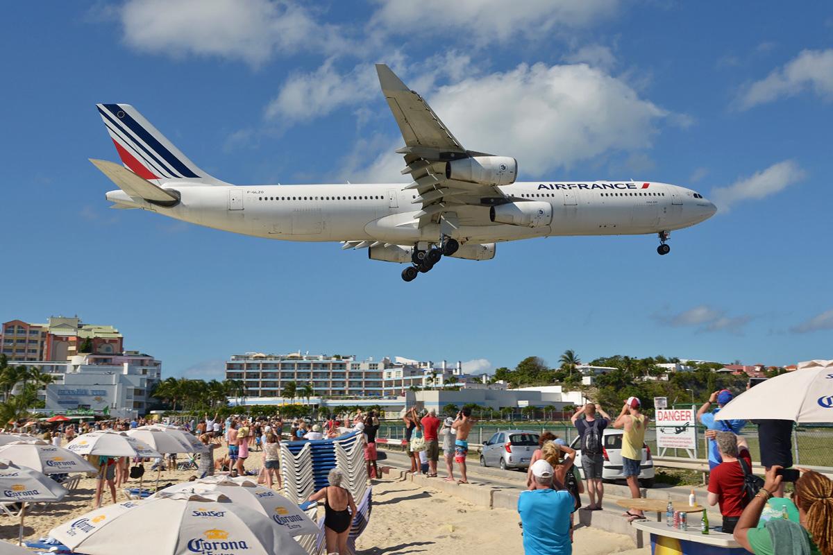 F-GLZO Air France Airbus A340-300